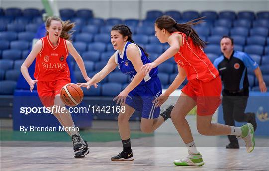 Crescent Comprehensive v Scoil Chriost Rí Portlaoise - Subway All-Ireland Schools U16A Girls Cup Final