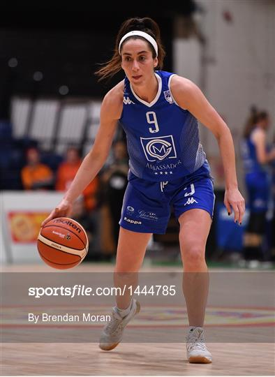 DCU Mercy v Ambassador UCC Glanmire - Hula Hoops Women's National Cup Final