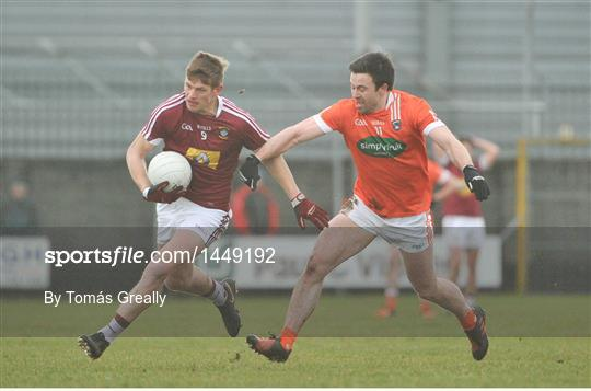 Westmeath v Armagh - Allianz Football League Division 3 Round 2