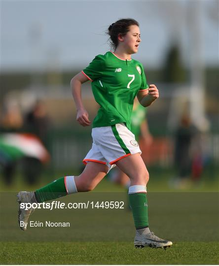 Republic of Ireland v Denmark - Women's Under 17 International Friendly