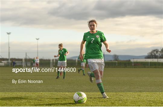 Republic of Ireland v Denmark - Women's Under 17 International Friendly