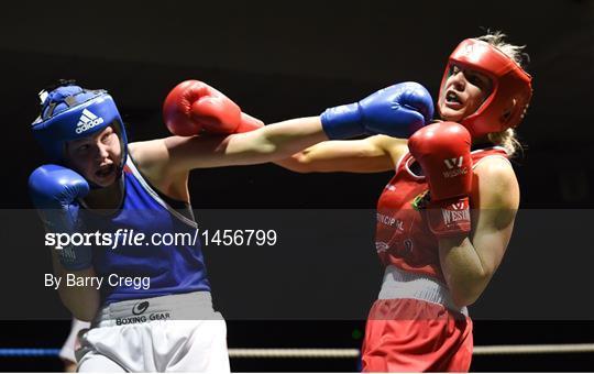 Sportsfile - 2018 IABA Elite Boxing Championships - Semi
