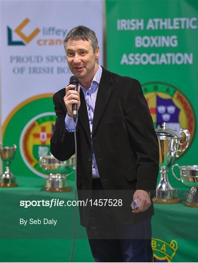 Launch of the Liffey Crane Hire Elite Boxing     - Sportsfile