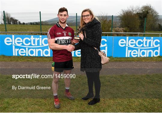 Man of the Match at St Mary's University College v  GMIT Letterfrack - Electric Ireland HE GAA Fergal Maher Cup Final