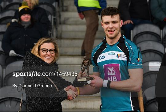Man of the Match at Maynooth University v Ulster University - Electric Ireland HE GAA Ryan Cup Final