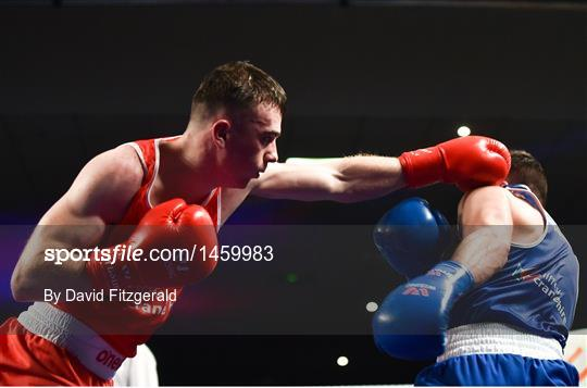 Liffey Crane Hire IABA Elite Boxing     - Sportsfile