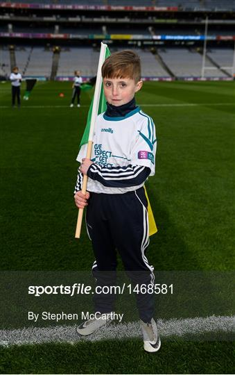 AIB Flagbearers at Corofin v Nemo Rangers - AIB GAA Football All-Ireland Senior Club Championship Final