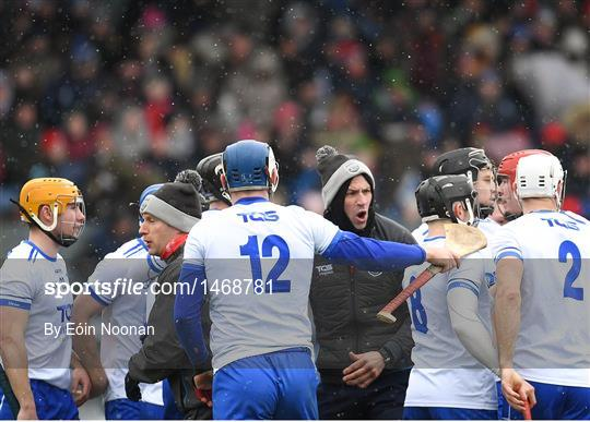 Waterford v Cork - Allianz Hurling League Division 1 Relegation Play-Off