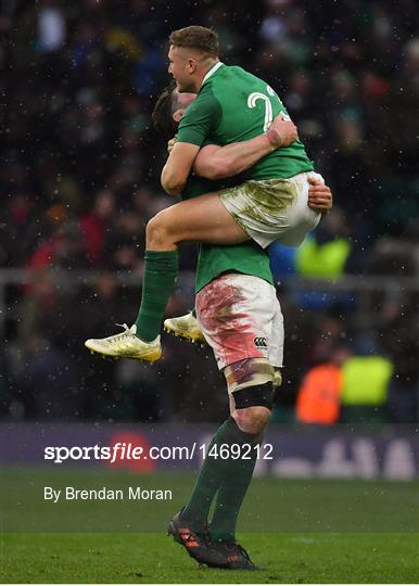 England v Ireland - NatWest Six Nations Rugby Championship