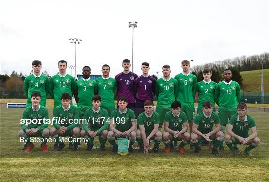 Republic of Ireland v Northern Ireland - Centenary Shield