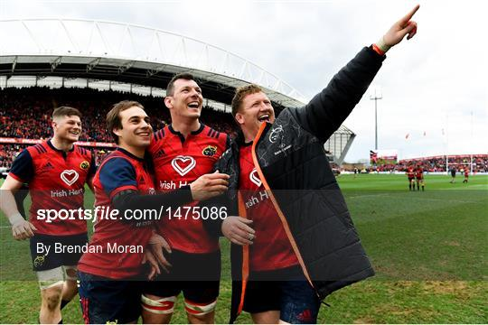 Munster v RC Toulon - European Rugby Champions Cup quarter-final