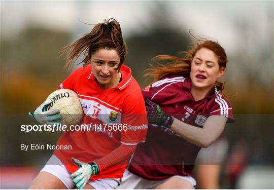 Galway v Cork - Lidl Ladies Football National League Division 1 Round 7