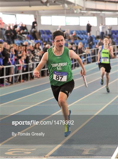 Irish Life Health National Juvenile Indoor Championships Day 1