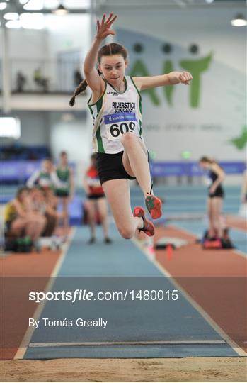 Irish Life Health National Juvenile Indoor Championships Day 1