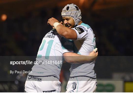 Glasgow Warriors v Connacht - Guinness PRO14 Round 20