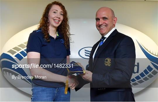 Leinster Women's Cap Presentation