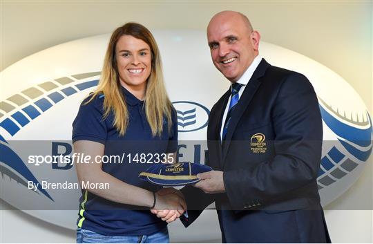 Leinster Women's Cap Presentation