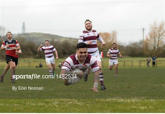 Tullow RFC v Wicklow RFC - Bank of Ireland Provincial Towns Cup Semi-Final
