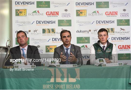 Senior Showjumping Press Conference
