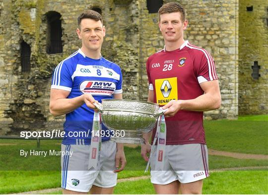 Launch of the 2018 Leinster Senior Football Championship