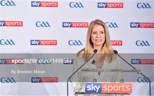 Launch of Sky GAA 2018 championship coverage