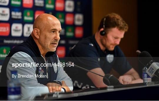 Racing 92 Rugby Captain's Run and Press Conference