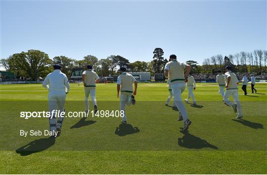 Ireland v Pakistan - International Cricket Test match - Day Two