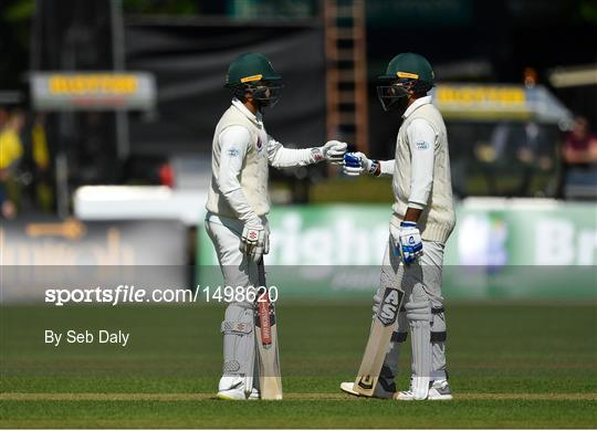 Ireland v Pakistan - International Cricket Test match - Day Two