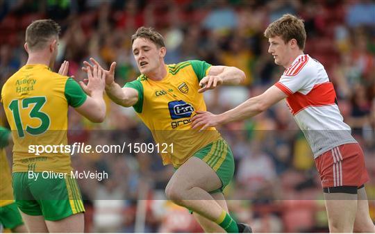 Derry v Donegal - Ulster GAA Football Senior Championship Quarter-Final