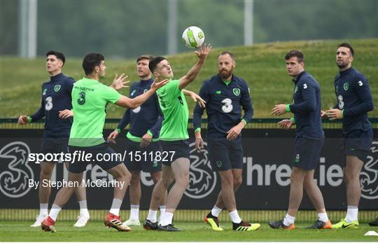 Republic of Ireland Training & Press Conference