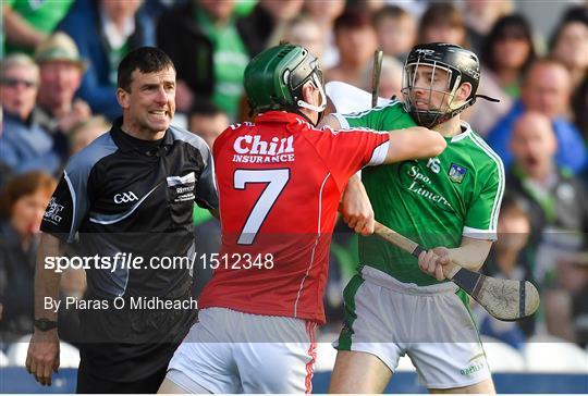 Cork v Limerick - Munster GAA Hurling Senior Championship Round 3