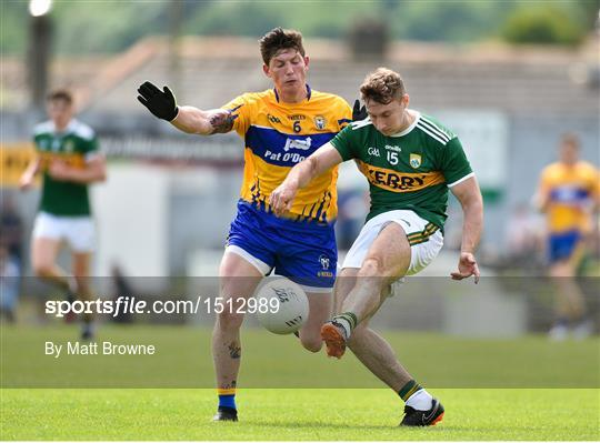Kerry v Clare - Munster GAA Football Senior Championship semi-final