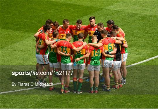 Carlow v Laois - Leinster GAA Football Senior Championship Semi-Final