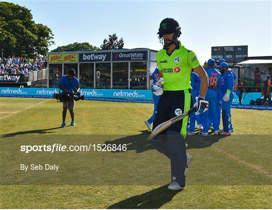 Ireland v India - T20 International - 1526846 - Sportsfile