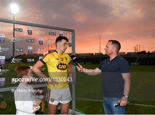 Bord Gáis Energy Man of the Match at Wexford v Galway - Bord Gais Energy Leinster Under 21 Hurling Championship 2018 Final