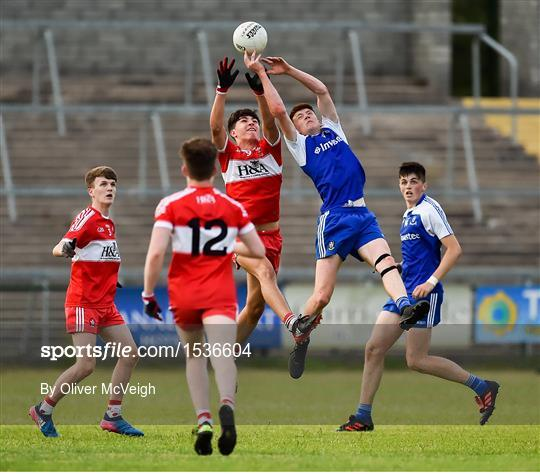 Derry v Monaghan - Electric Ireland Ulster GAA Football Minor Championship Final
