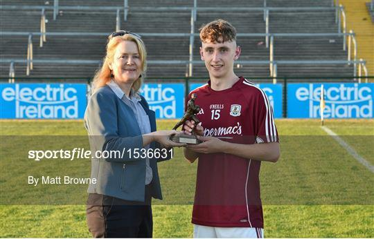 Man of the Match at Roscommon v Galway - Electric Ireland Connacht GAA Minor Championship Final