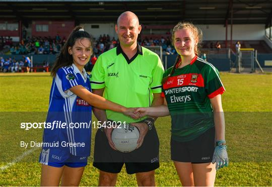 Laois v Mayo - All-Ireland Ladies Football U16 B Championship Final