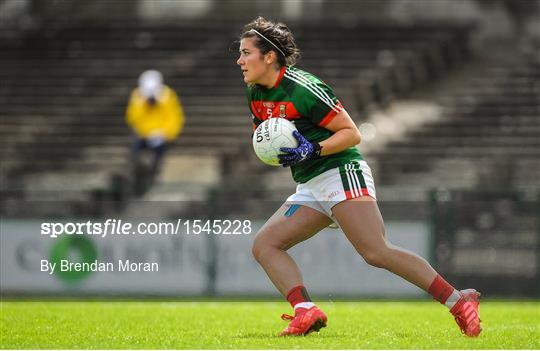 Dublin v Mayo - TG4 All-Ireland Ladies Football Senior Championship qualifier Group 1 - Round 3