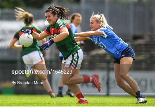 Dublin v Mayo - TG4 All-Ireland Ladies Football Senior Championship qualifier Group 1 - Round 3
