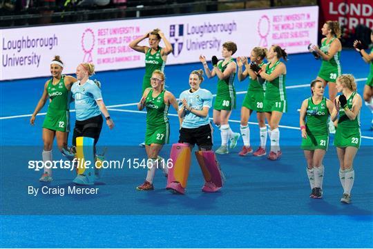 England v Ireland - Women's Hockey World Cup Finals Group B