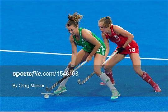 England v Ireland - Women's Hockey World Cup Finals Group B
