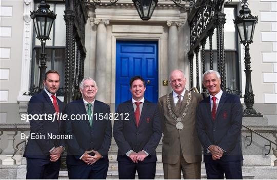 Liverpool Ambassadors Visit Dublin Lord Mayor