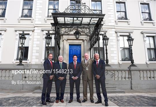 Liverpool Ambassadors Visit Dublin Lord Mayor