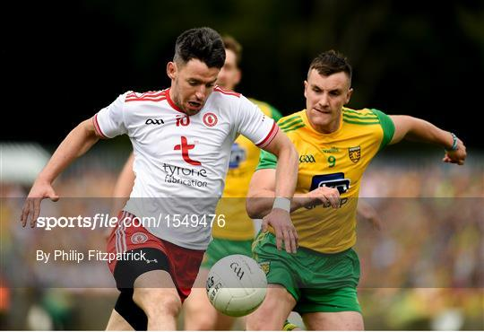 Tyrone v Donegal - GAA Football All-Ireland Senior Championship Quarter-Final Group 2 Phase 3