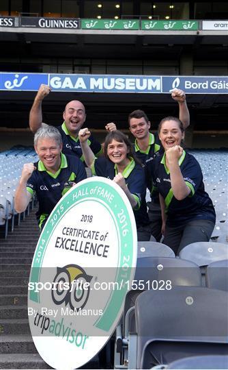 GAA Museum & Tours celebrates TripAdvisor 'Hall of Fame' Award