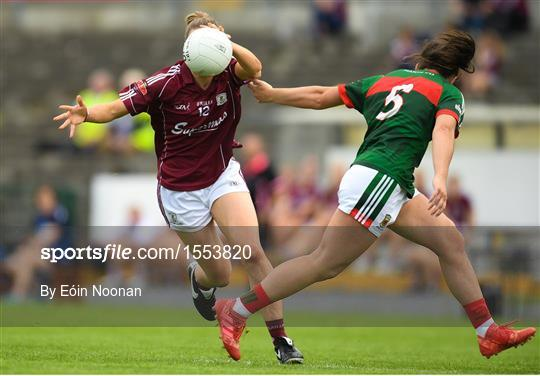 Galway v Mayo - TG4 All-Ireland Ladies Football Senior Championship quarter-final