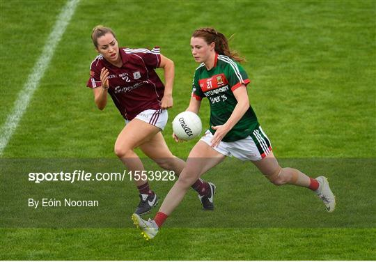 Galway v Mayo - TG4 All-Ireland Ladies Football Senior Championship quarter-final