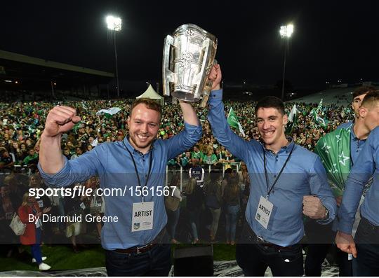 Limerick All-Ireland Hurling Winning team homecoming