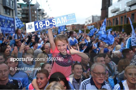 Dublin All-Ireland Football Winning Team Homecoming